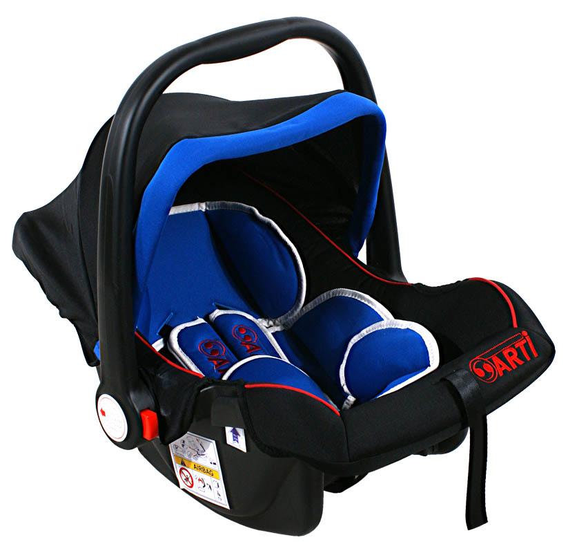 Autosedačka ARTI Safety One 0-13kg Black Blue Autosedačka nosítko, kategorie 0+