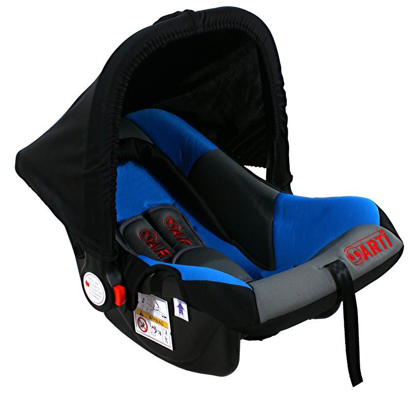 Autosedačka ARTI Safety One 0-13kg Black Blue Grey Autosedačka nosítko, kategorie 0+