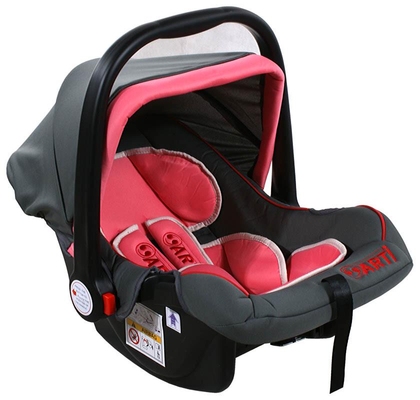 Autosedačka ARTI Safety One 0-13kg Grey Pink Autosedačka nosítko, kategorie 0+