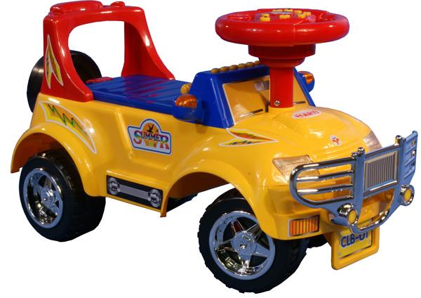 Odrážedlo auto Arti 3111 BIG J yellow Odrážecí auto ARTI pro děti