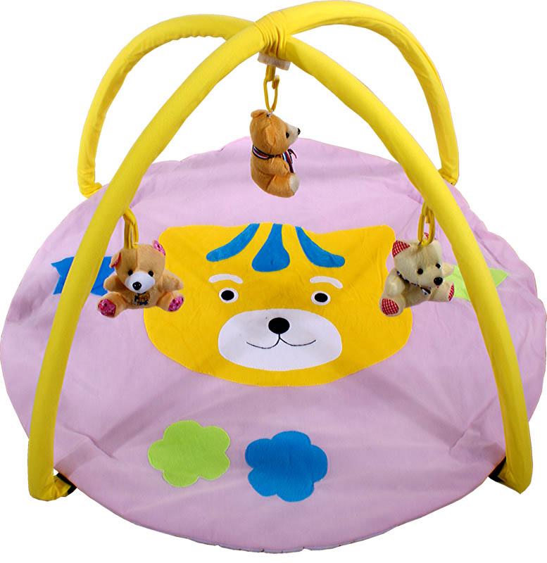 ARTI Hrací deka Tiger Pink Hrací deka s hrazdičkou
