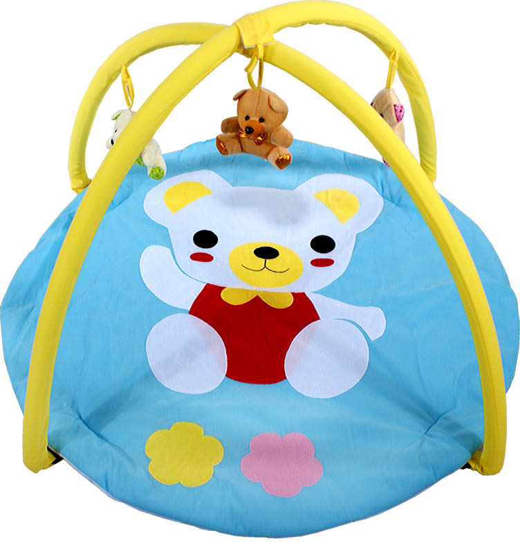 ARTI Hrací deka Bear Blue Hrací deka s hrazdičkou