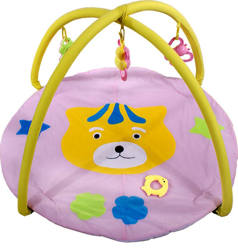 ARTI Hrací deka Tiger toys Pink Hrací deka s hrazdičkou