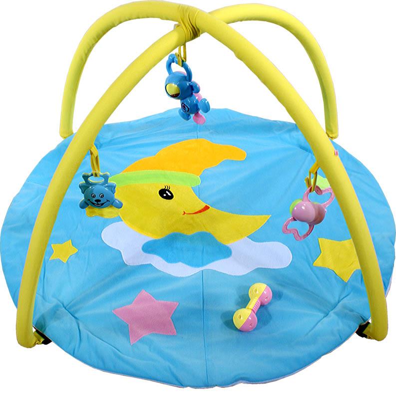ARTI Hrací deka Moon toys Blue Hrací deka s hrazdičkou