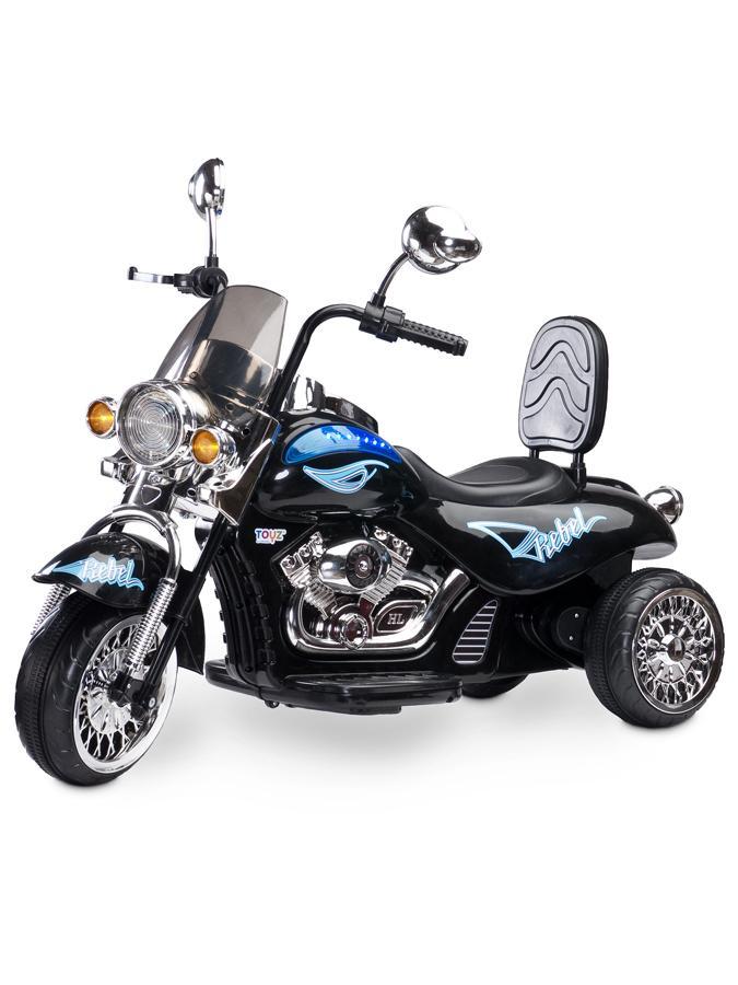 Elektrická motorka Toyz Rebel black Dětská elektrická motorka Toyz