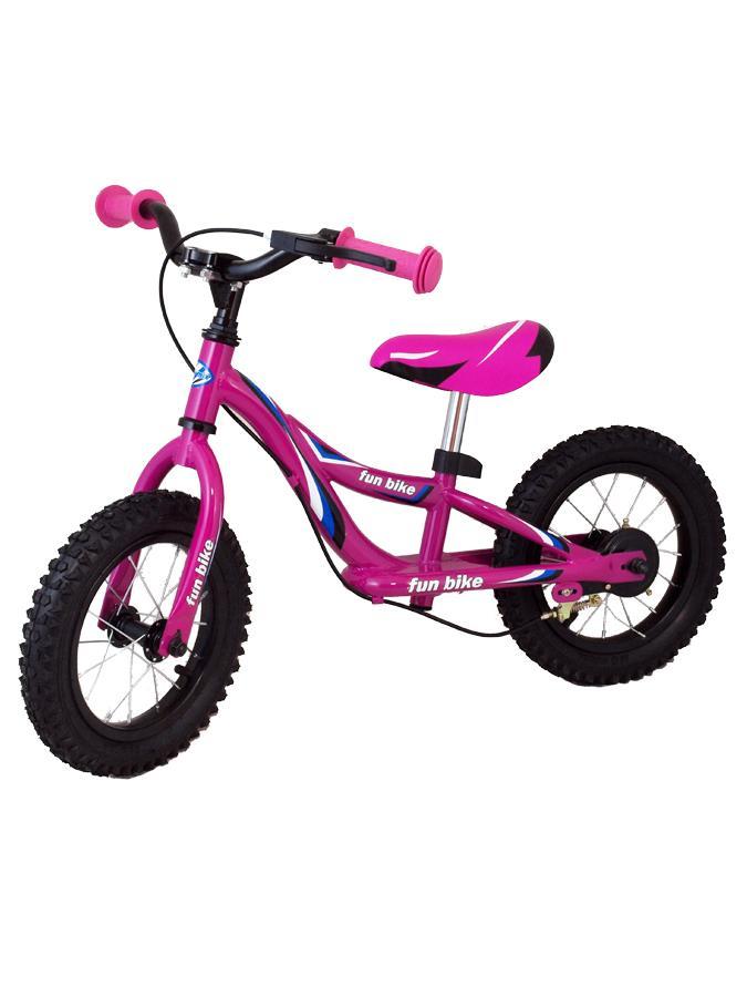 Odrážecí kolo Baby Mix Fun bike pink Odrážedlo kolo Baby Mix