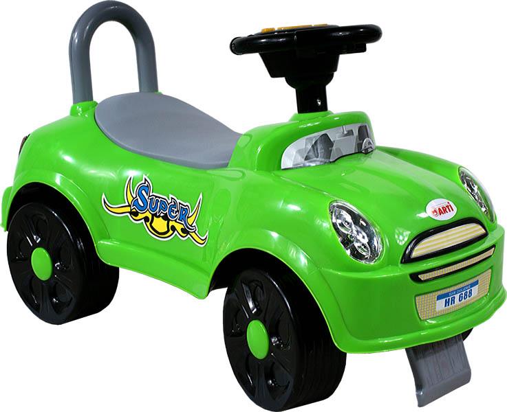 Arti Odrážedlo Super Car green Odrážecí auto pro děti