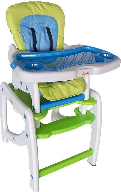 Jídelní židlička SWING Blue Jídelní židlička rozkládací na stolek a křesílko