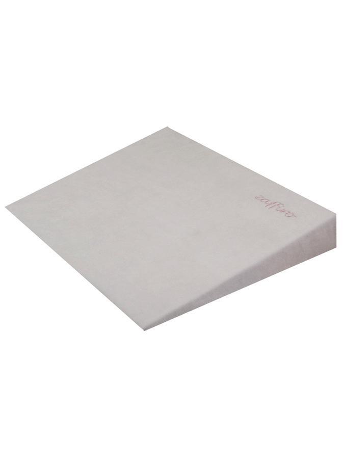 Kojenecký polštář - klín Sensillo šedý 40x36cm Kojenecký klín semiškový