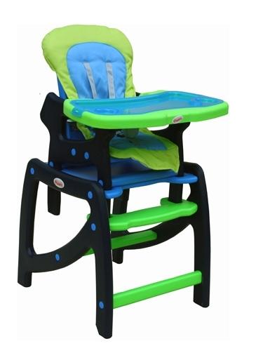 Jídelní židlička SWING Green Jídelní židlička rozkládací na stolek a křesílko