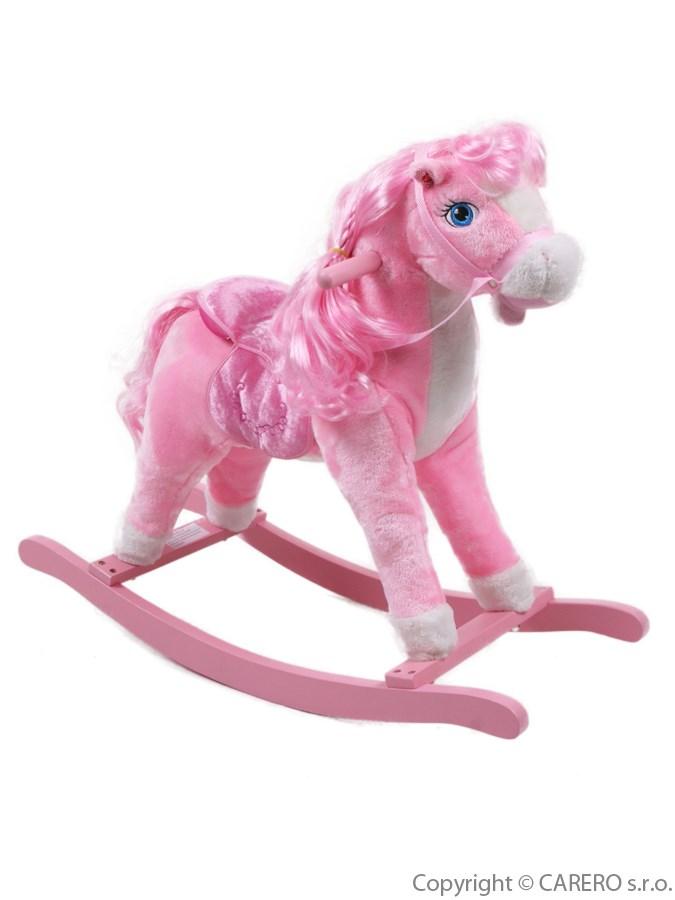 Houpací kůň Bayo Sugar růžový