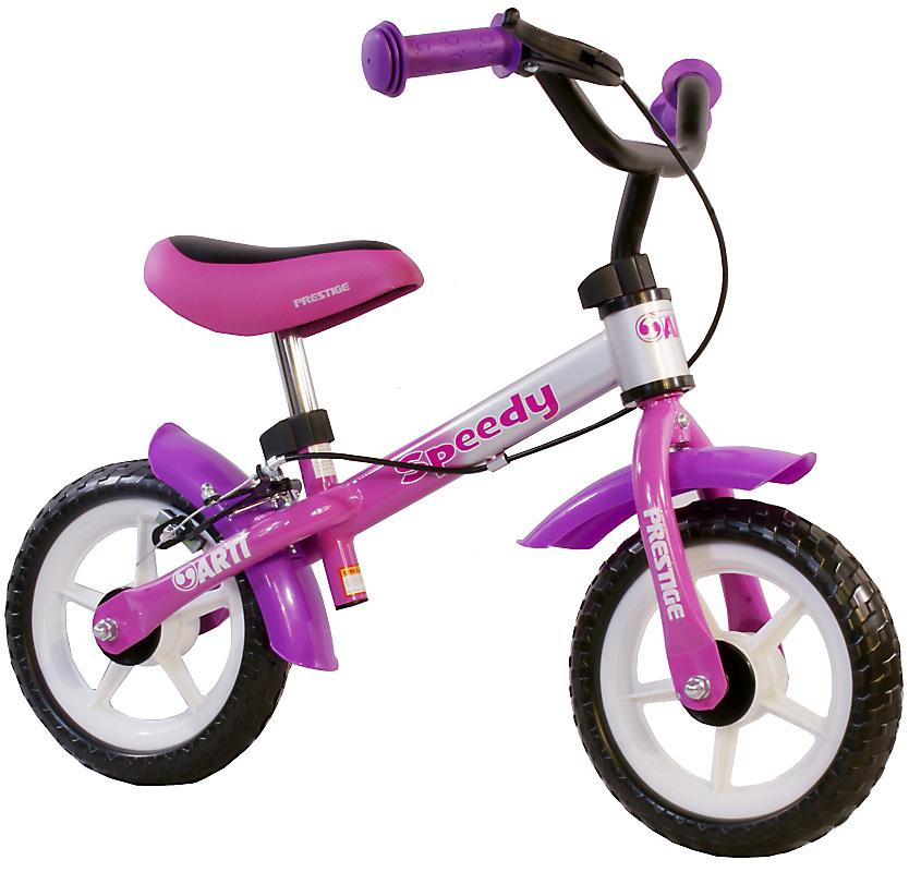 Odrážedlo kolo ARTI Speedy M Luxe new pink purple-silver Dětské odrážecí kolo Arti Speedy M
