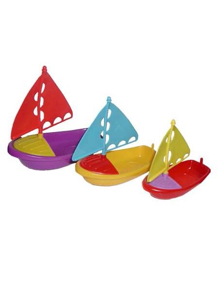 Hračky do vany Baby Mix lodičky Edukační hračka do vany