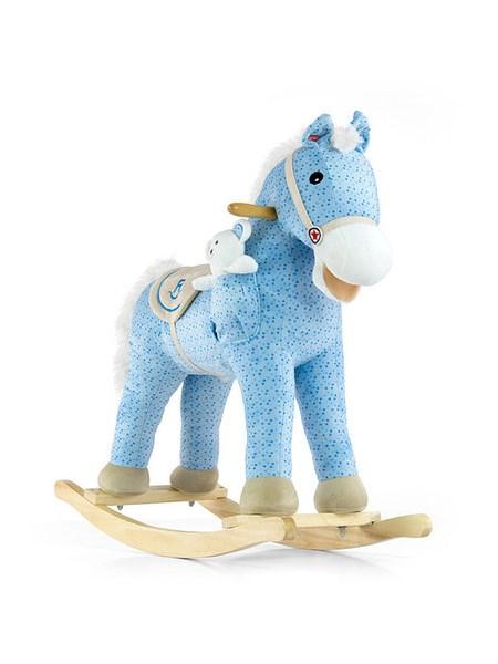 Houpací kůň Milly Mally Pony modrý