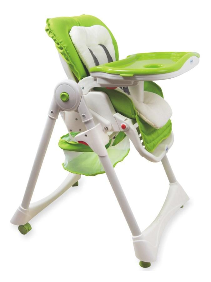 Jídelní židlička Baby Mix zelená Skládací jídelní židlička Baby Mix