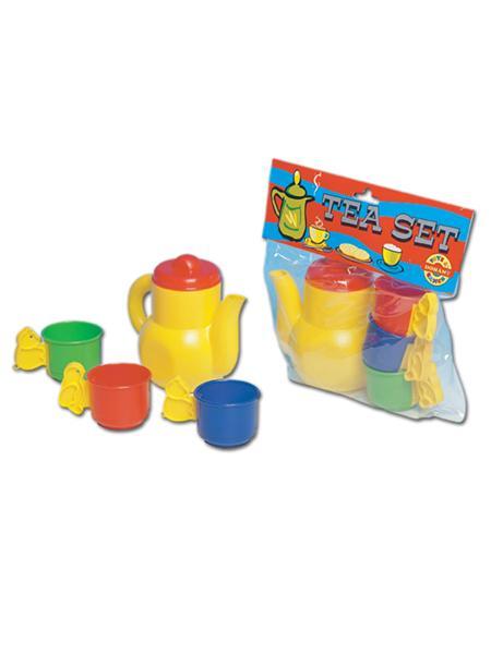 Dětské nádobí - čajový set Dětské plastové nádobíčko