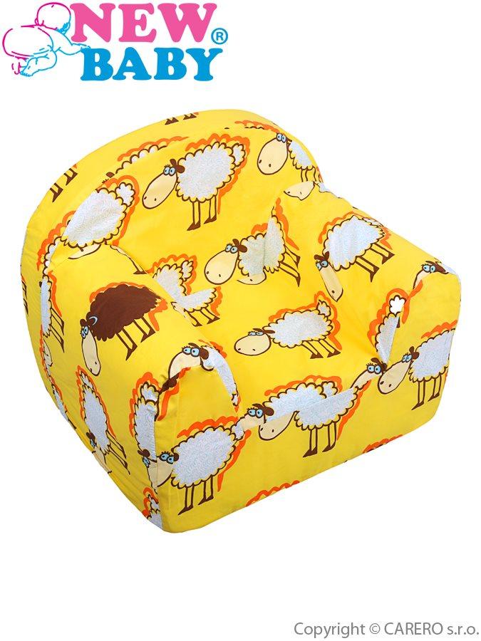 Dětské křeslo Ovečky