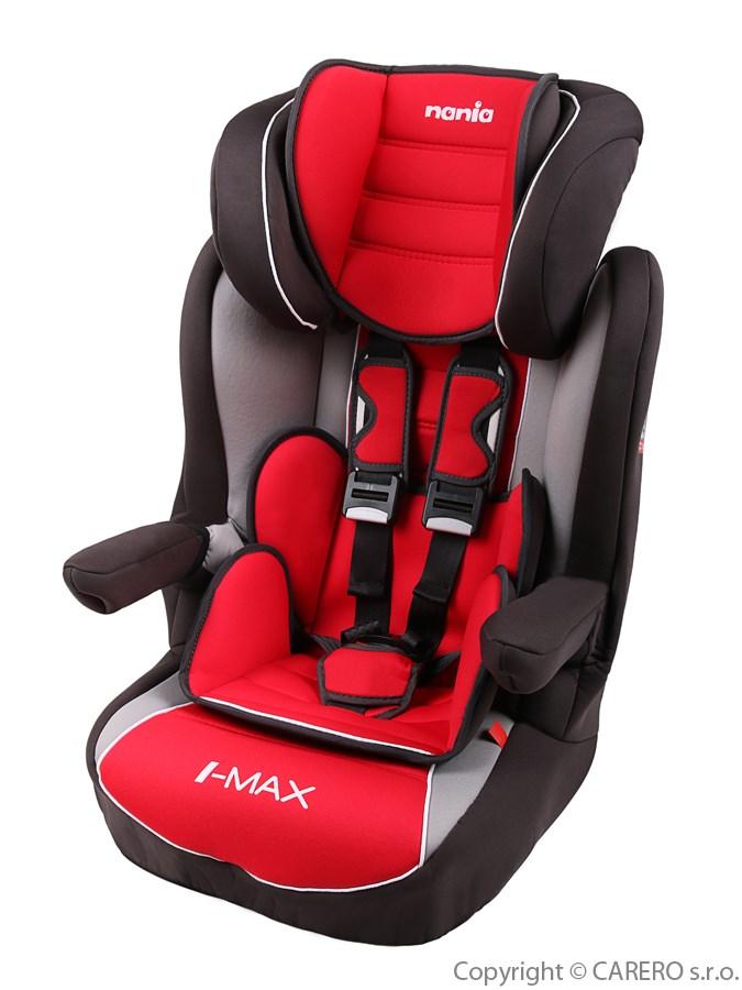 Autosedačka Nania I-Max Isofix Luxe Agore Carmin 2016 Autosedačka NANIA Isofix pro 9-36 kg