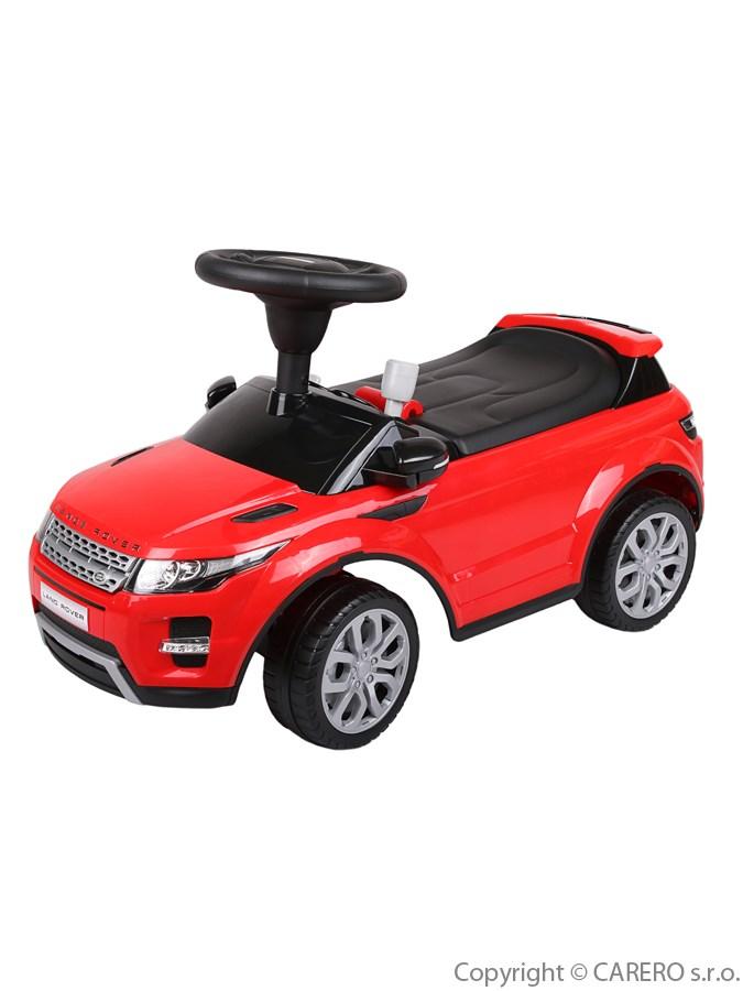 Odrážedlo Bayo Range Rover červené Odrážecí auto Range Rover pro děti