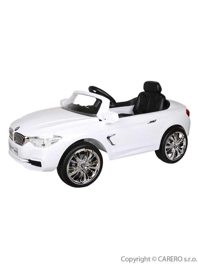 Elektrické auto BMW Bayo bílé Elektrické autíčko pro 1 dítě s dálkovým ovládáním