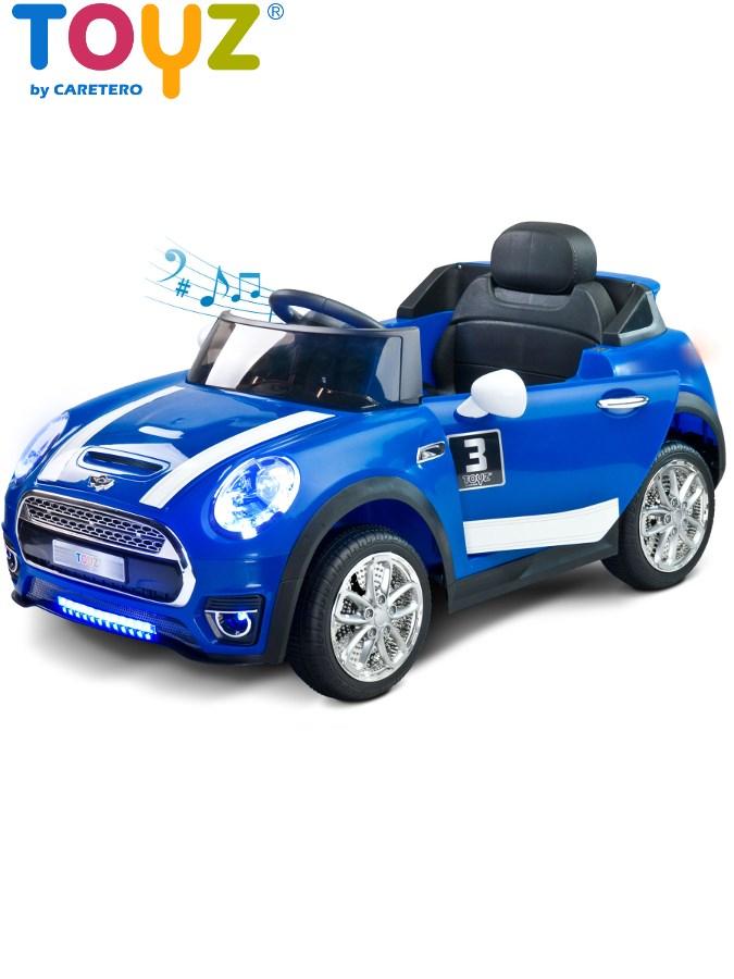 Dětské elektrické auto Toyz Maxi modré Elektrické autíčko pro děti Toyz
