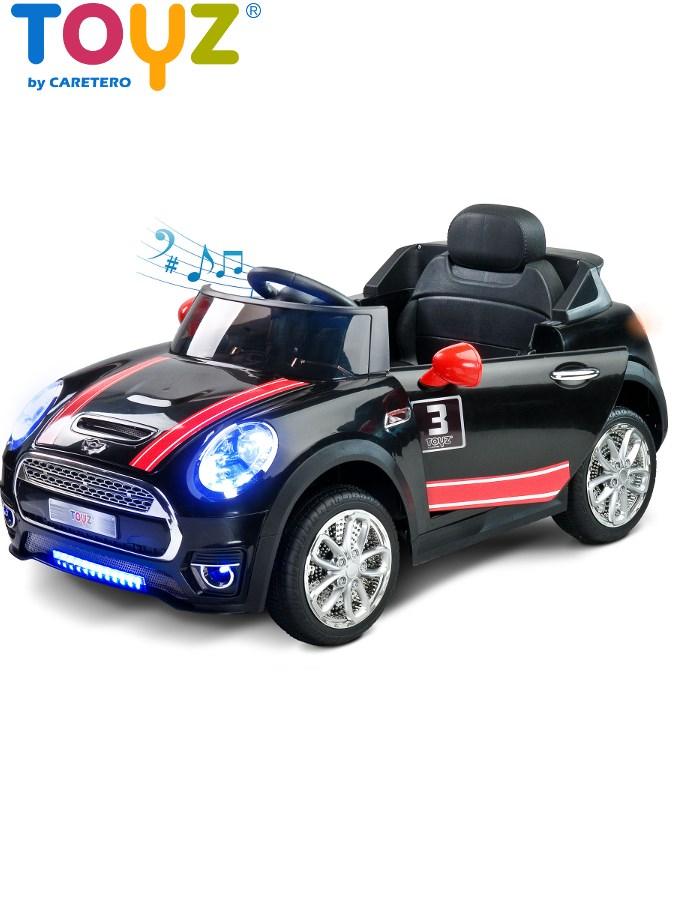 Dětské elektrické auto Toyz Maxi černé Elektrické autíčko pro děti Toyz