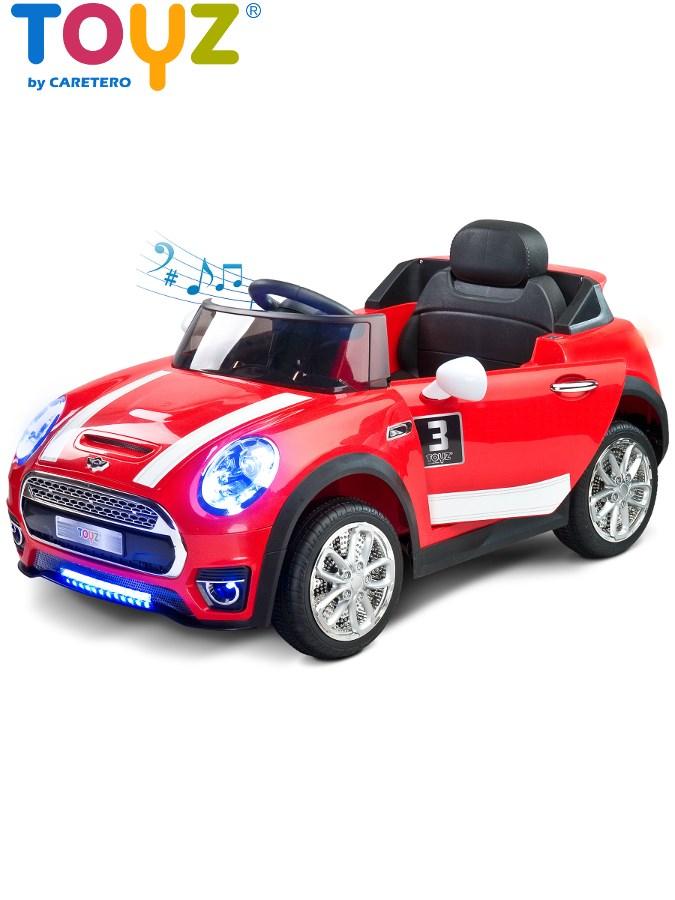 Dětské elektrické auto Toyz Maxi červené Elektrické autíčko pro děti Toyz