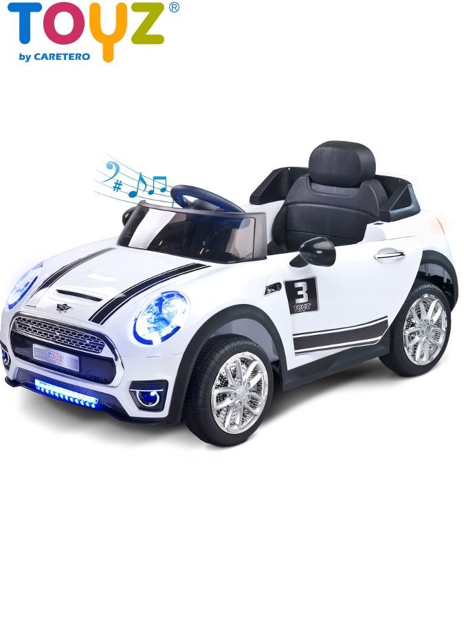 Dětské elektrické auto Toyz Maxi bílé Elektrické autíčko pro děti Toyz