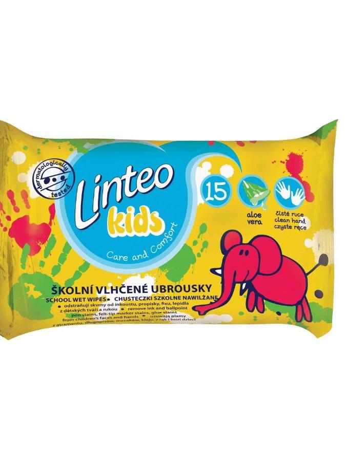 Vlhčené ubrousky Linteo Baby Kids 15 ks Dětské vlhčené ubrousky