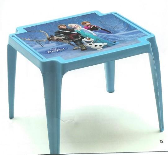 Dětský stolek plastový - Frozen Plastový dětský stolek Ledové království