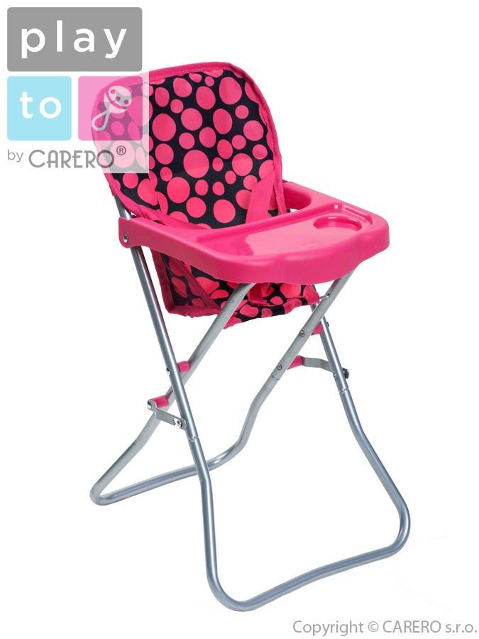 Jídelní židlička pro panenky PlayTo Dorotka Jídelní židlička pro panenky PlayTo