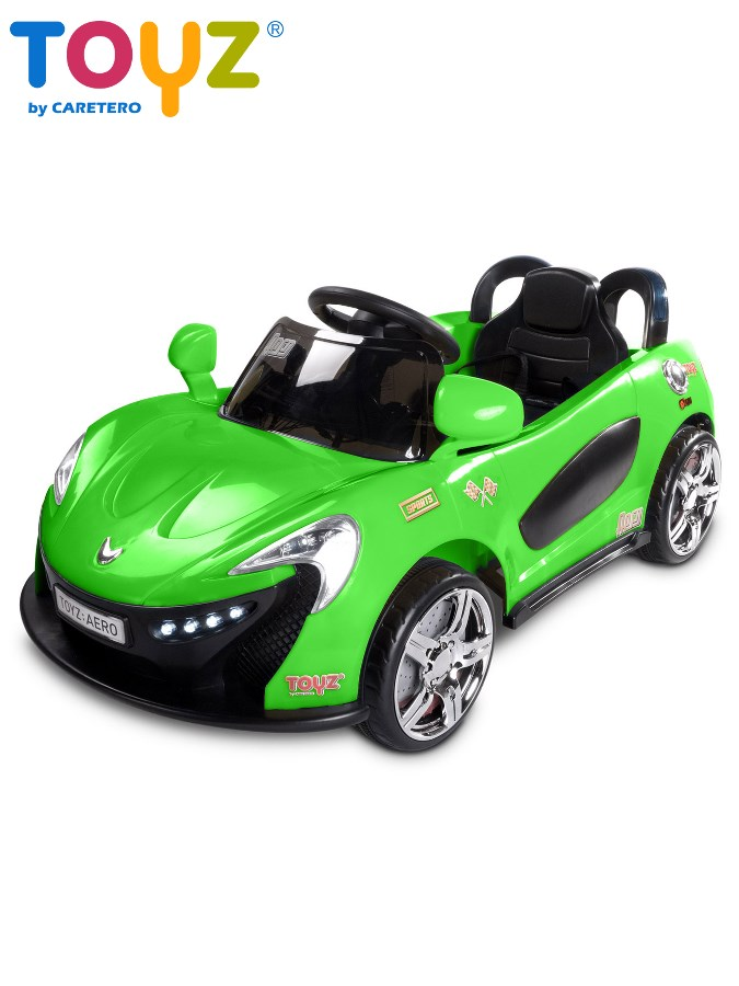 Dětské auto TOYZ Aero green na baterii Elektrické autíčko pro děti Toyz