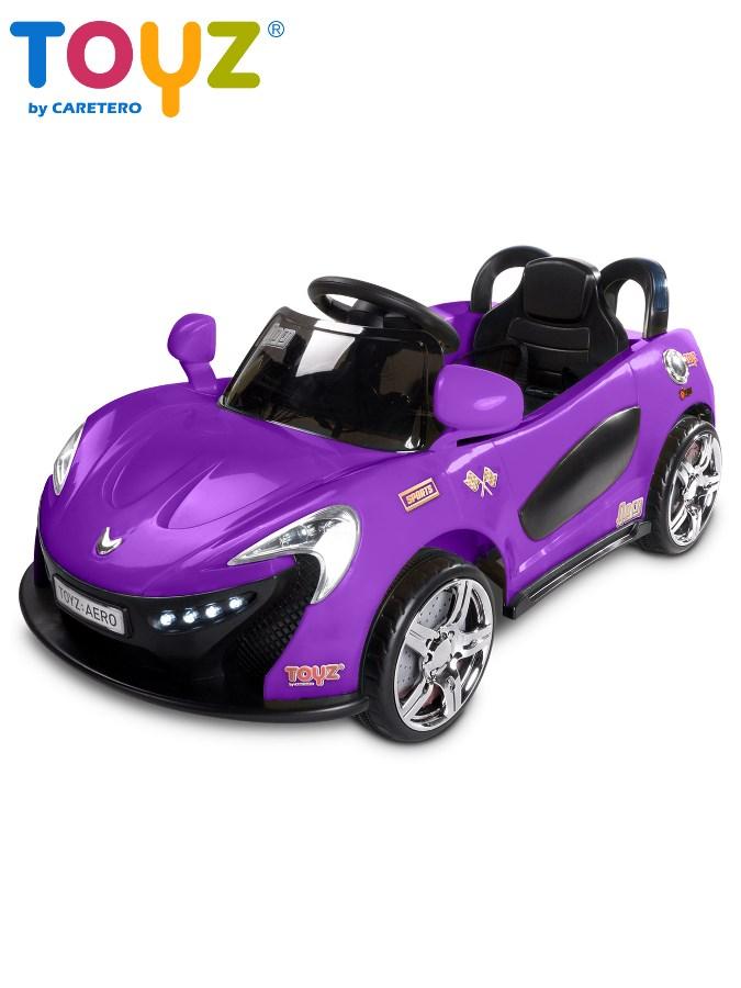 Dětské auto TOYZ Aero violet na baterii Elektrické autíčko pro děti Toyz