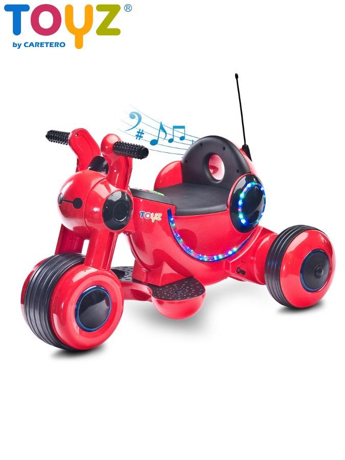 Elektrická motorka Toyz Gismo red Dětské elektrické vozítko Toyz Gismo