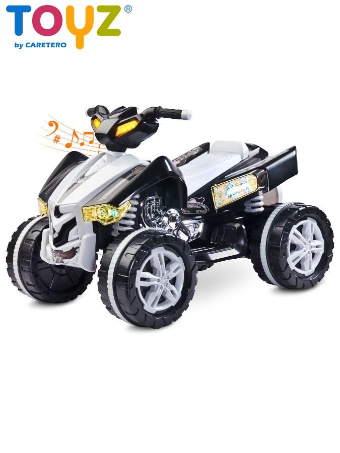Dětská elektrická čtyřkolka Toyz RAPTOR black Čtyřkolka na baterii pro děti