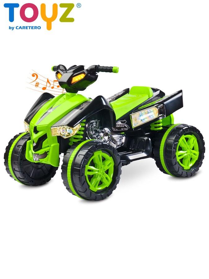 Dětská elektrická čtyřkolka Toyz RAPTOR green Čtyřkolka na baterii pro děti