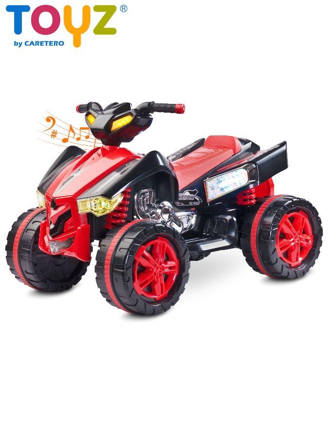 Dětská elektrická čtyřkolka Toyz RAPTOR red Čtyřkolka na baterii pro děti