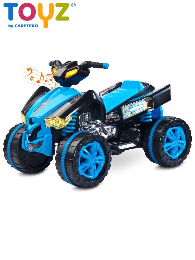 Dětská elektrická čtyřkolka Toyz RAPTOR blue Čtyřkolka na baterii pro děti