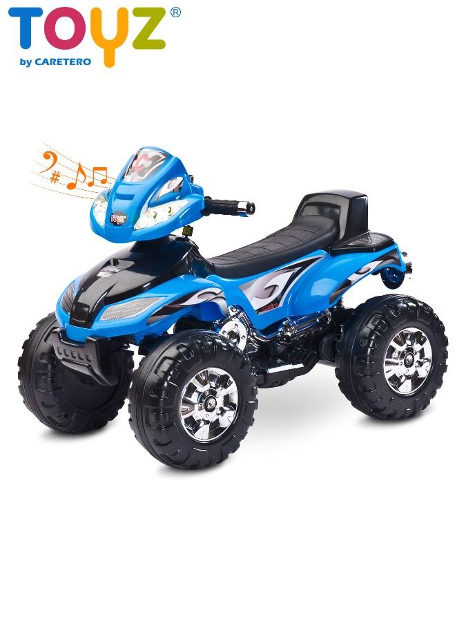 Dětská elektrická čtyřkolka Toyz CUATRO blue Čtyřkolka na baterii pro děti