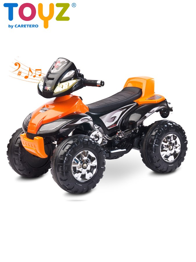 Dětská elektrická čtyřkolka Toyz CUATRO orange Čtyřkolka na baterii pro děti