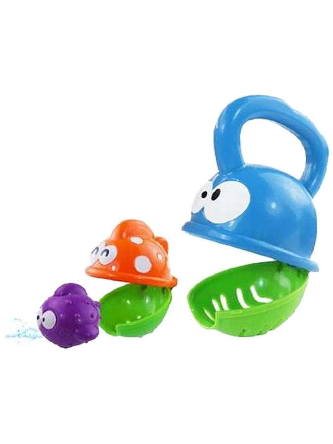 Hračka do vany Baby Mix papající rybka Edukační hračka do vany