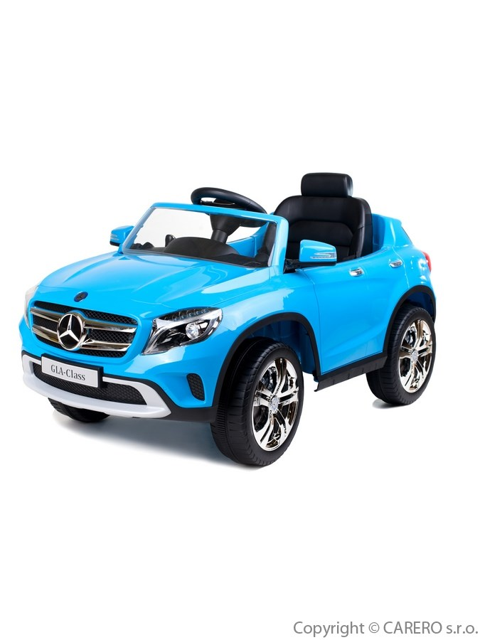 Elektrické autíčko BAYO Mercedes-Benz blue Elektrické autíčko pro 1 dítě s dálkovým ovládáním