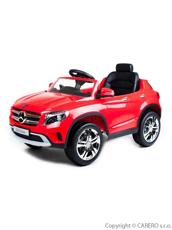 Elektrické autíčko BAYO Mercedes-Benz red Elektrické autíčko pro 1 dítě s dálkovým ovládáním