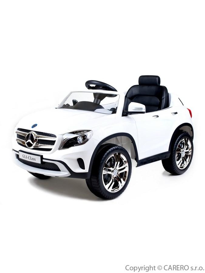 Elektrické autíčko BAYO Mercedes-Benz white Elektrické autíčko pro 1 dítě s dálkovým ovládáním