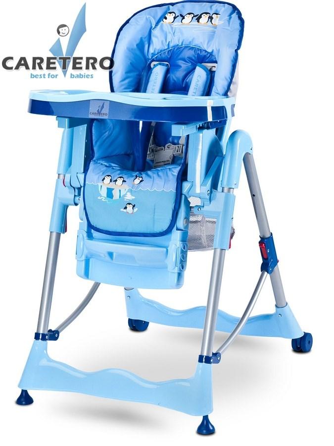CARETERO Magnus Fun blue Skládací jídelní židlička Caretero