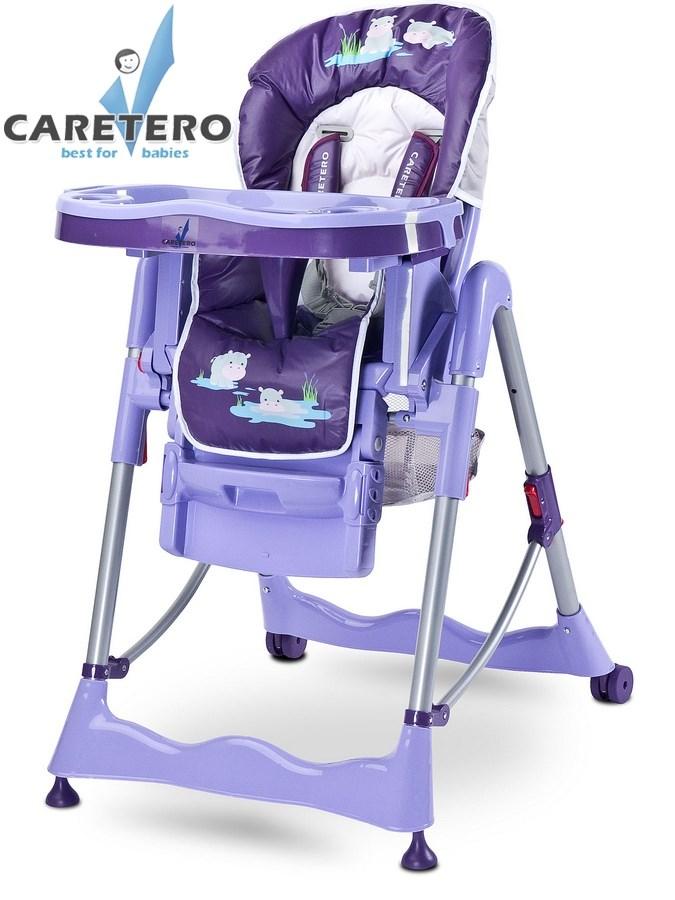 CARETERO Magnus Fun purple Skládací jídelní židlička Caretero