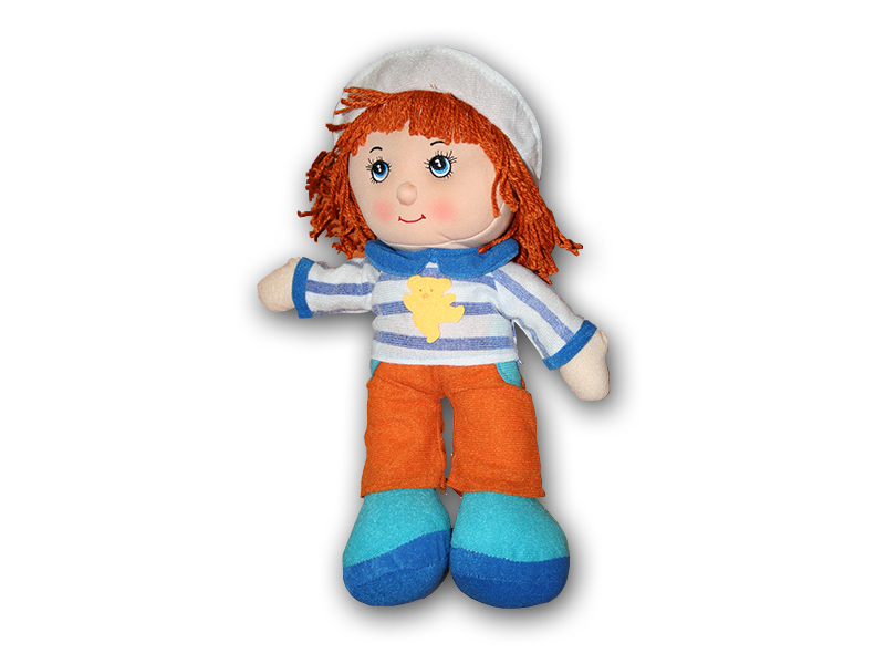 Hadrová panenka chlapeček 36 cm Hadráček chlapeček