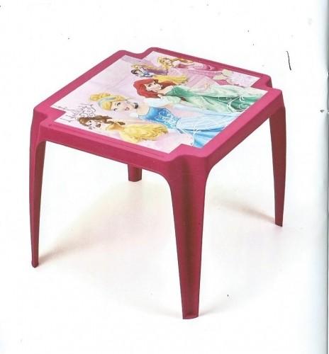 Dětský stolek plastový - Princess Plastový dětský stolek Disney