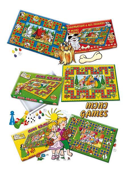 Stolní hra Mini Games Mořská víla Dětská stolní hra
