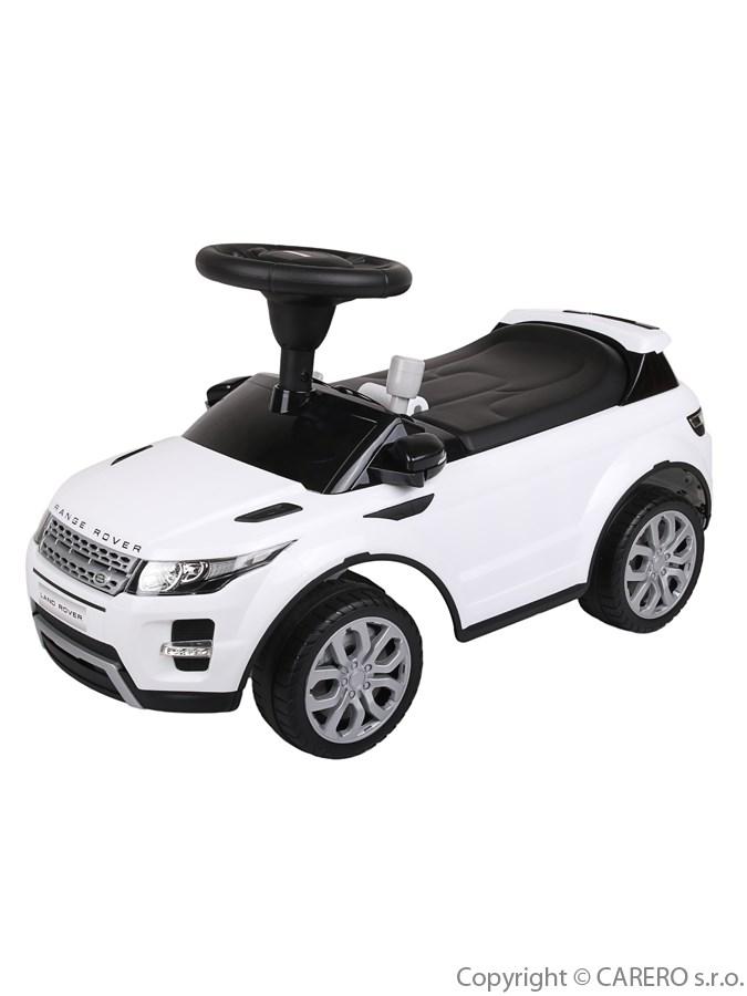 Odrážedlo Baby Mix Range Rover bílé Odrážecí auto Range Rover pro děti